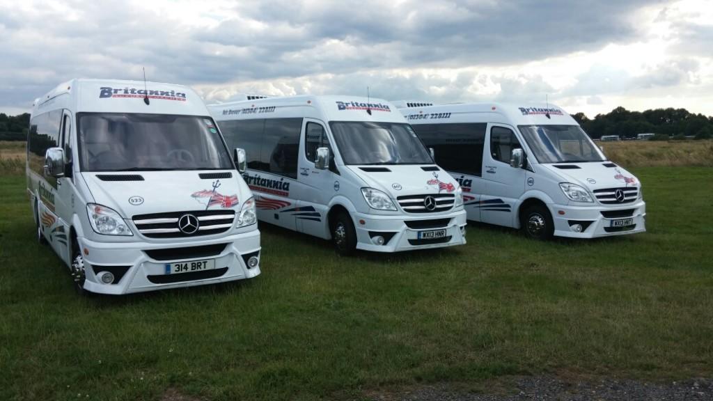 16 Seat Luxury Mini Coach - Britannia Coaches