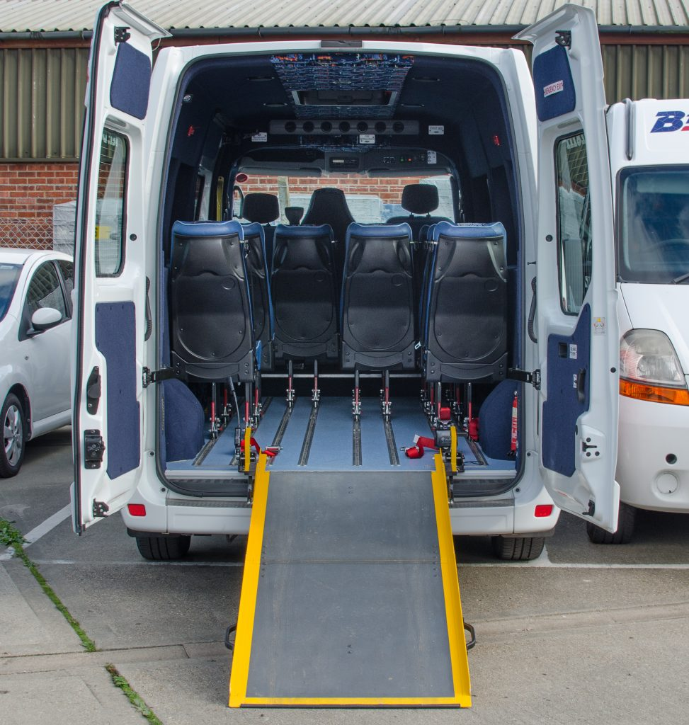 Wheelchair Accessible Minibus Britannia Coaches